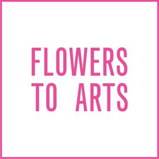 FLOWERS TO ARTS Logo