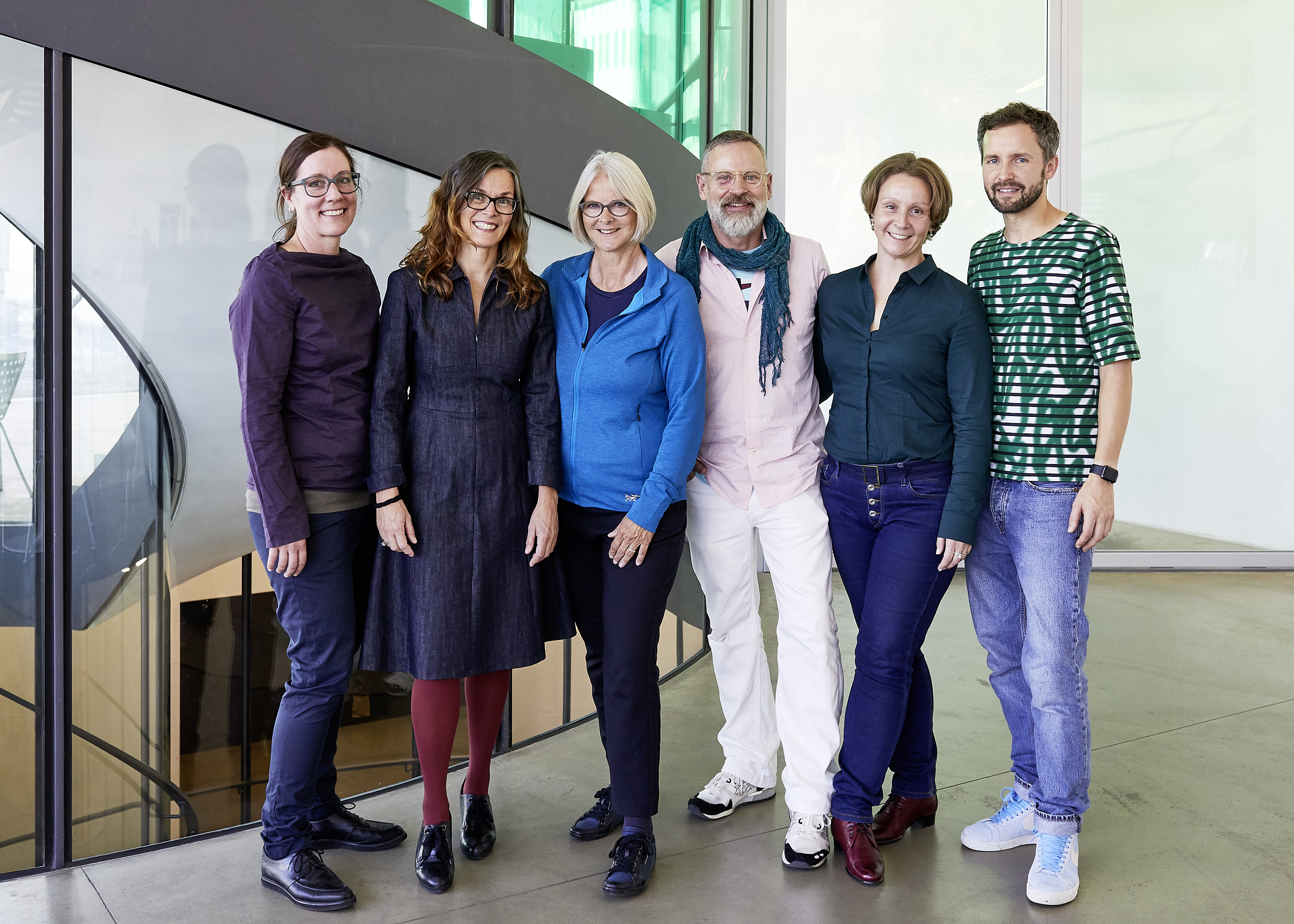 Myrta Frohofer, Julia Antoniou, Angela Wettstein, Bettina Uhlmann, Philipp von Arx